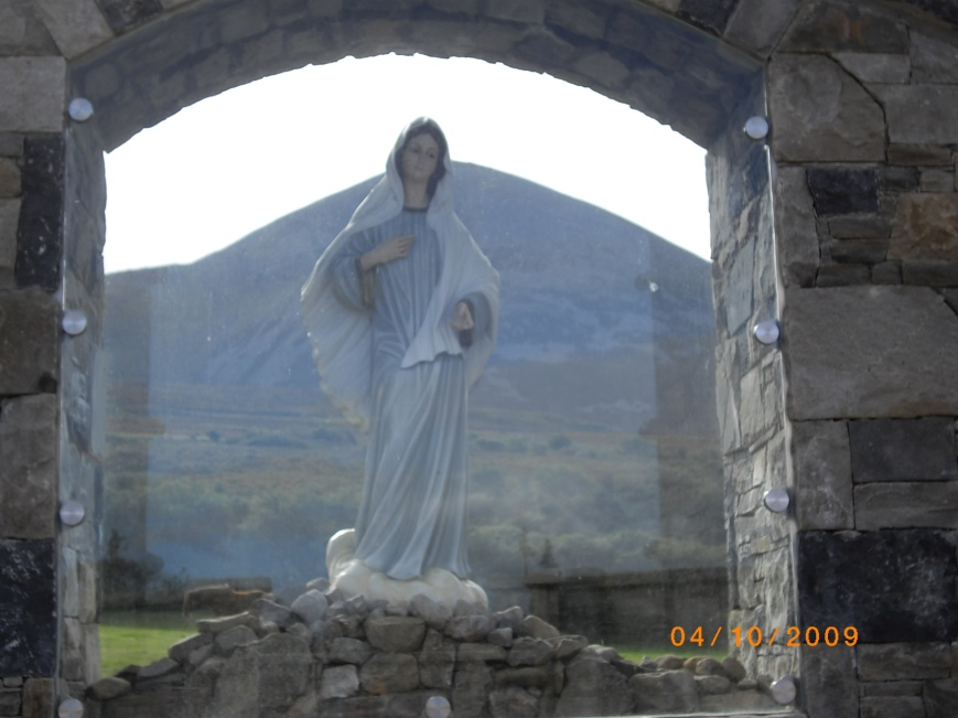Croagh Patrick through Our Lady Queen of Peace